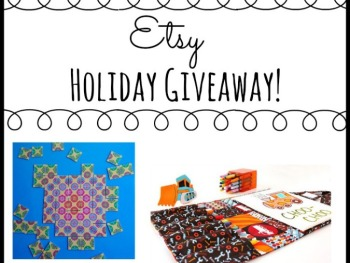 HOLIDAY GIVEAWAY – OUR FAVORITE TOYS AND PRODUCTS FROM ETSY!