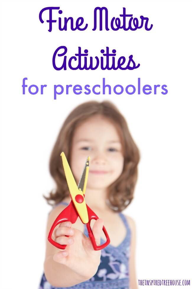 The Inspired Treehouse - These are some of our favorite fine motor activities for preschoolers.  Perfect for kids who are refining their manipulation and coordination skills.