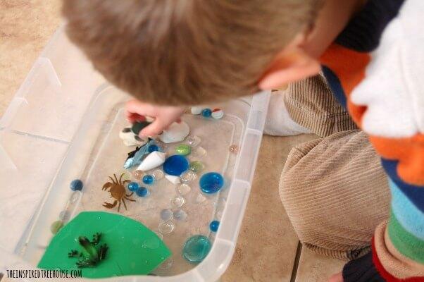 frog world kids activities