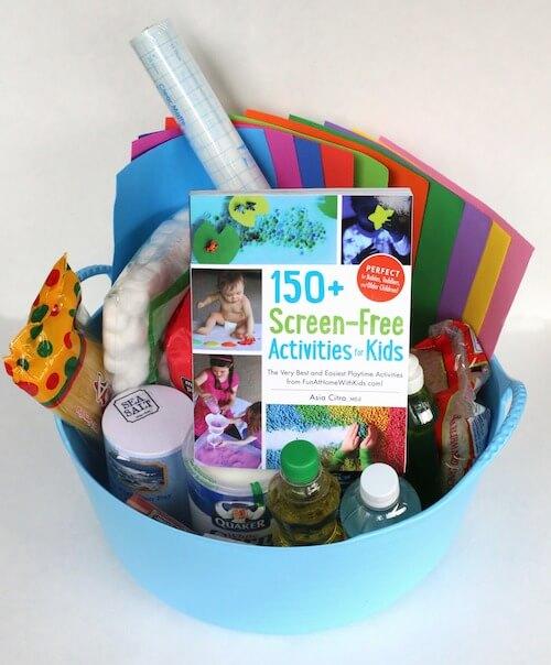 gift basket pic kids activities