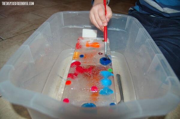 ice excavation kids activities