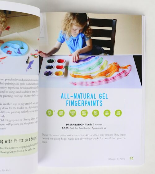 painting page kids activities