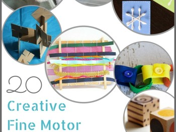FINE MOTOR SKILLS: 20 CREATIVE ACTIVITIES FOR KIDS