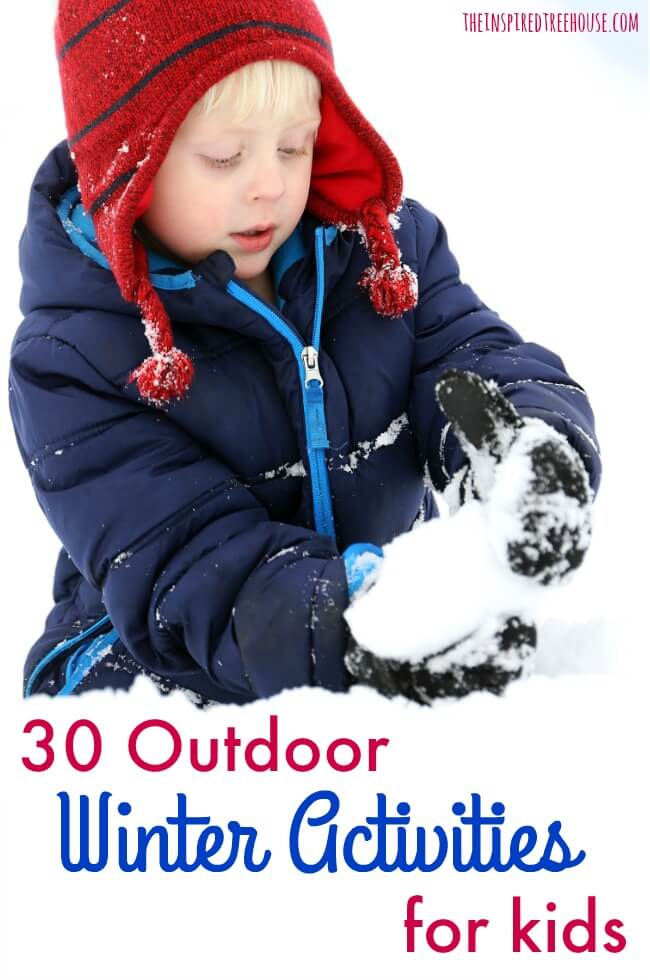 winter outdoor activities. Interesting Winter The Inspired Treehouse  We Celebrate The Arrival Of Cold Snowy Weather  Because Throughout Winter Outdoor Activities