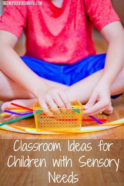 classroom ideas sensory
