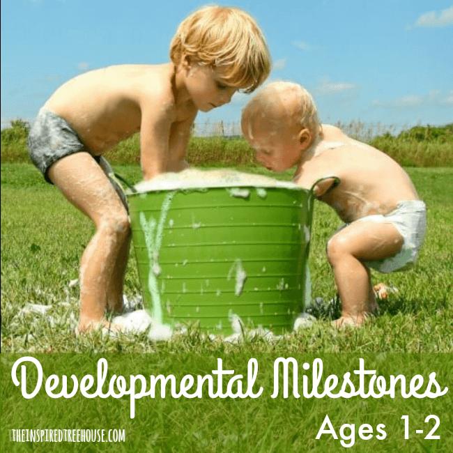 developmental milestones toddlers
