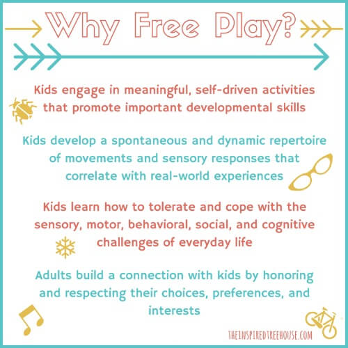 free play every day healthy kids