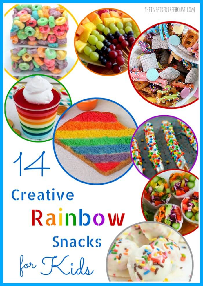 Rainbow Snacks For Kids The Inspired Treehouse
