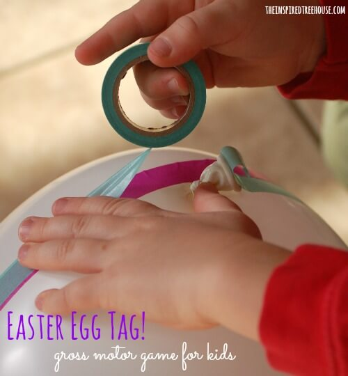 easter ideas for kids easter egg tag title
