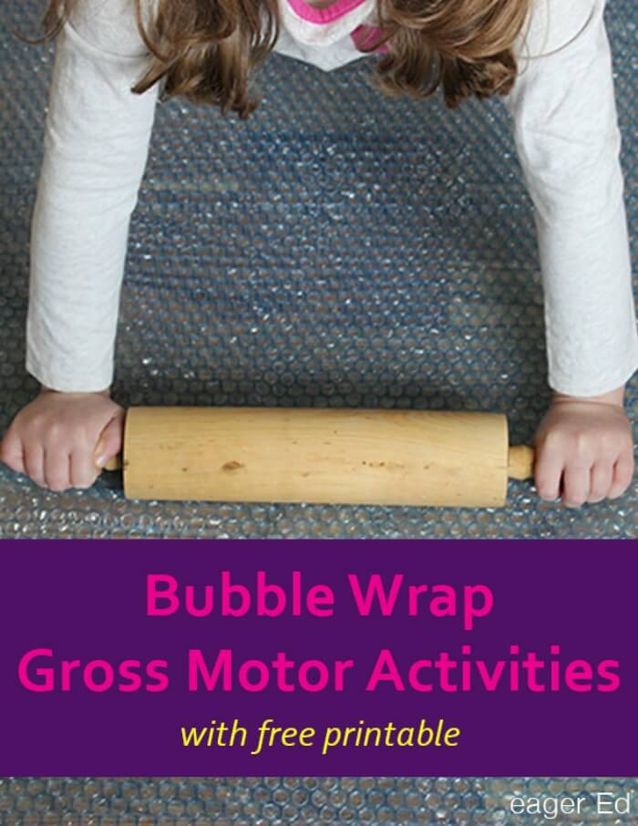 Movement Monday Gross Motor Play Ideas Bubble Wrap The