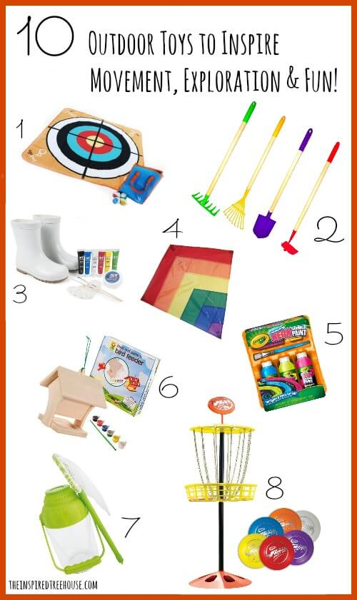 outdoor toys to inspire movement, exploration and fun title1