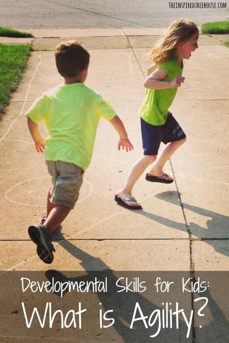 agility developmental skills pin