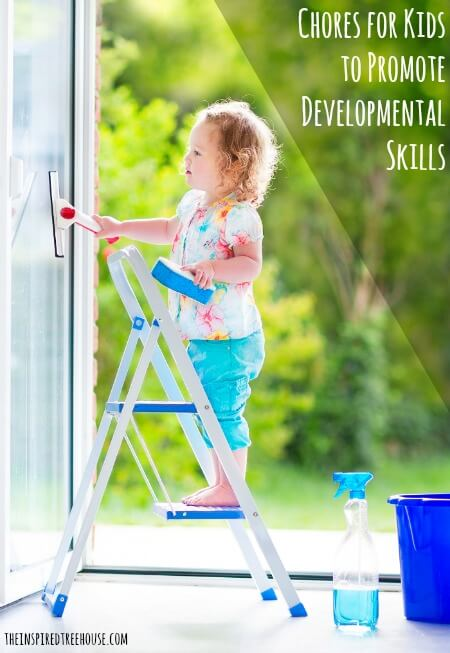chores for kids to promote developmental skills