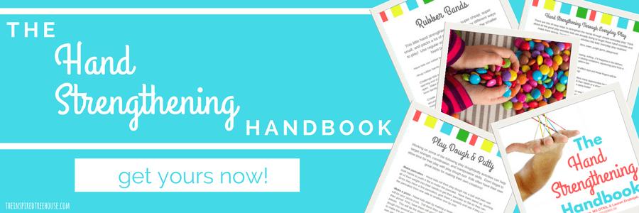 The Inspired Treehouse - The Hand Strengthening Handbook