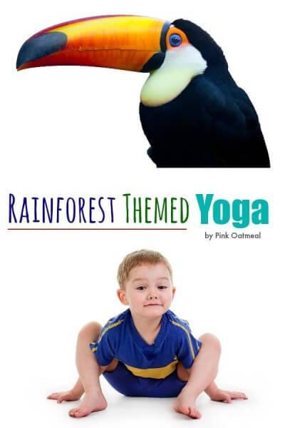 Rainforest-Themed-Yoga-Pink-Oatmeal