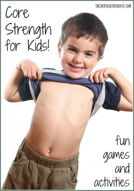 core strengthening for kids title LP