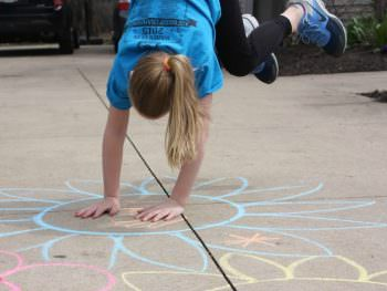 Motor Planning Game for Kids: Ring Around the Posies!