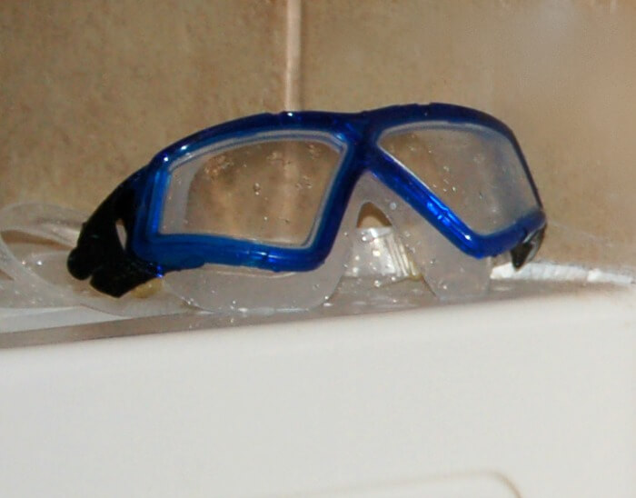 blue goggles featured