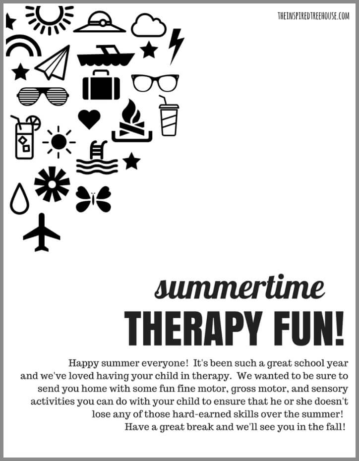 free summer activities packet featured