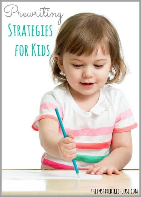 prewriting strategies title