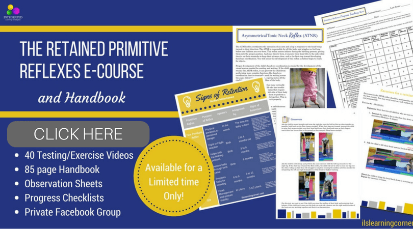 Integrated Learning Strategies Primitive Reflexes Course