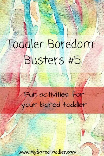 boredom busters 5 pinterest