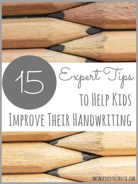 improve handwriting title 1
