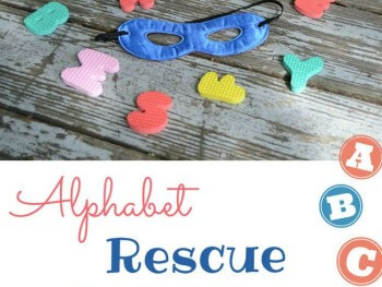 LEARNING THE ALPHABET: ALPHABET RESCUE!