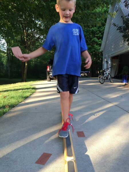 balance beam activities for kids