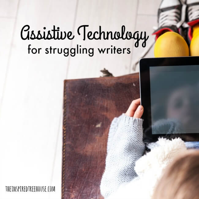 The Inspired Treehouse - Assistive technology and alternatives to handwriting: what to do when handwriting simply isn't an option.