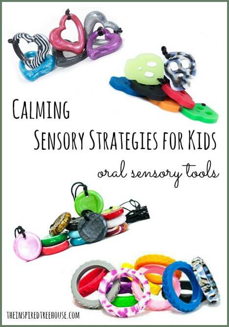 calming sensory strategies for kids oral sensory