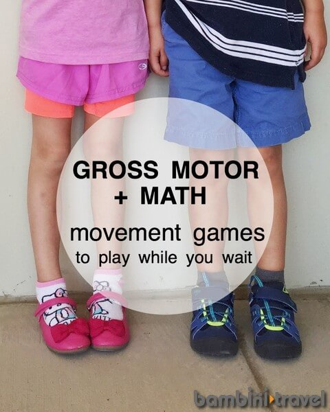 gross motor and math