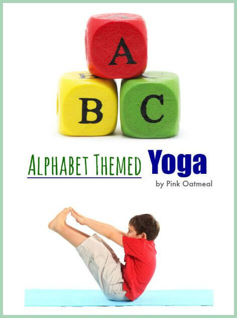 photograph about Printable Yoga Poses for Preschoolers referred to as YOGA POSES FOR Children: ALPHABET YOGA - The Impressed Treehouse