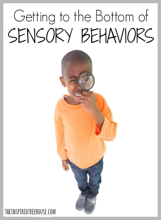 getting to the bottom of sensory behaviors