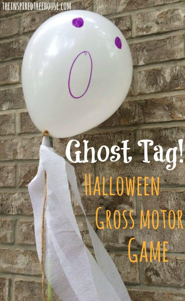 halloween party ideas for kids ghost tag title