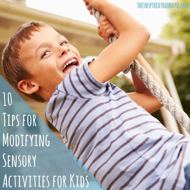 sensory activities tips 2 image