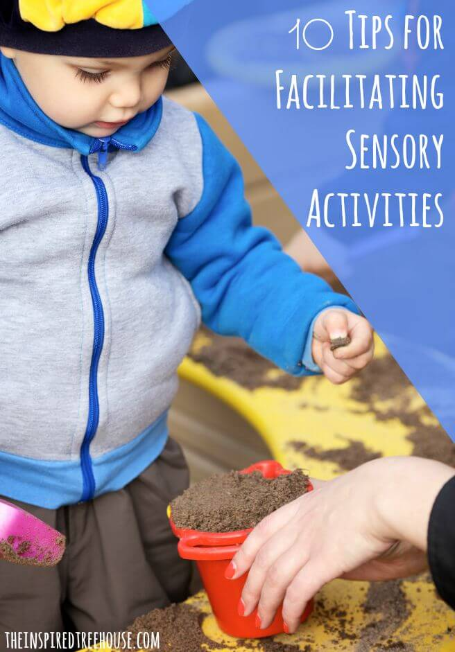 sensory activities tips title