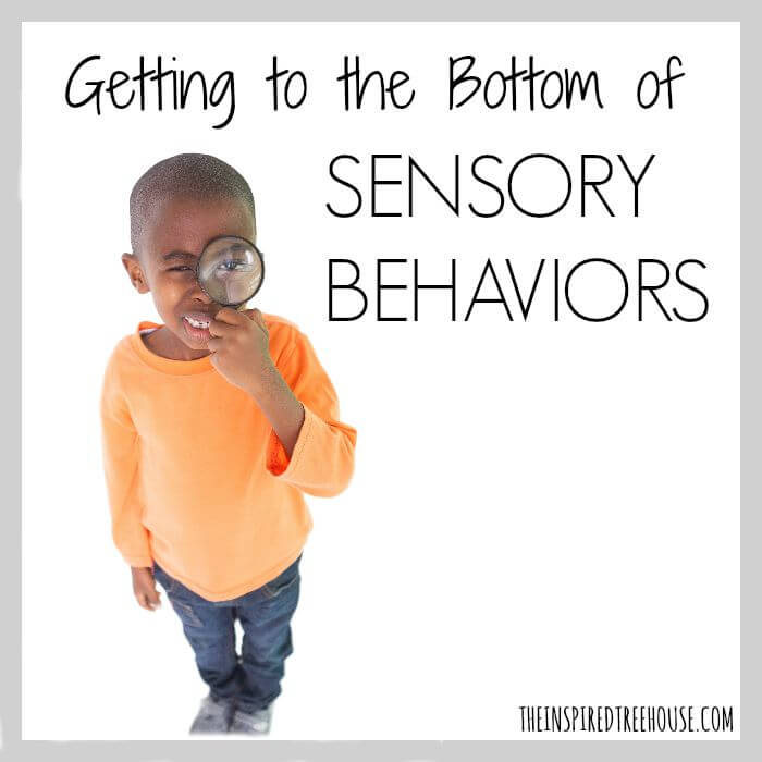 Getting To The Bottom Of Sensory Behaviors A 3 Step