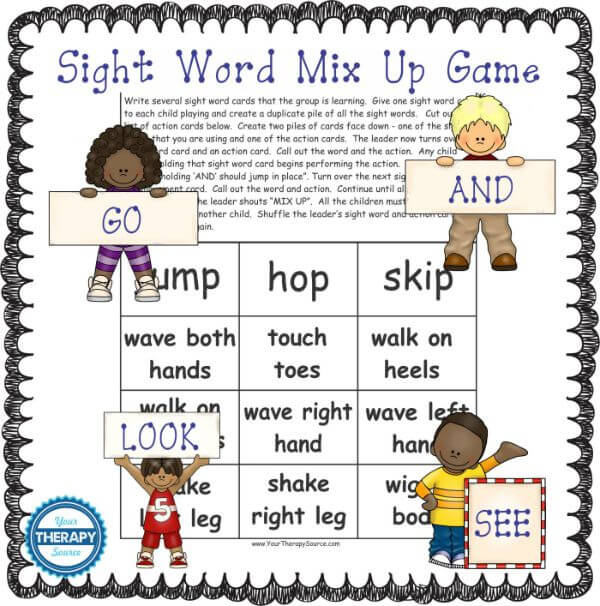 active learning strategies sight words