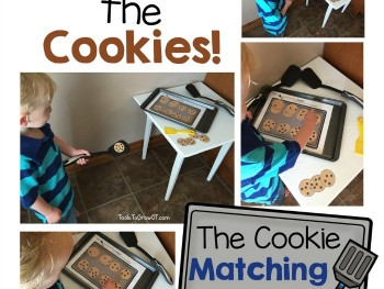 MOVEMENT AND LEARNING: COOKIE MATCHING & COUNTING GAMES!