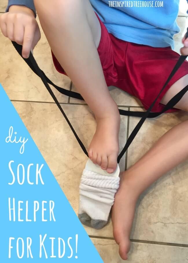 sock helper for kids title
