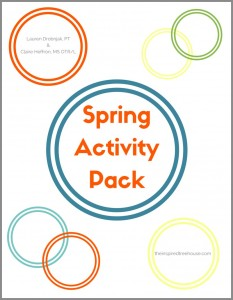 The Spring Activity Pack - from The Inspired Treehouse - This printable packet of 14 fun activities is perfect for preschoolers and elementary-aged children and includes materials checklists and ideas for grading the difficulty of each activity.