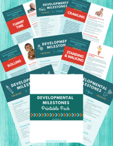 The Inspired Treehouse - Developmental Milestones Handout Pack