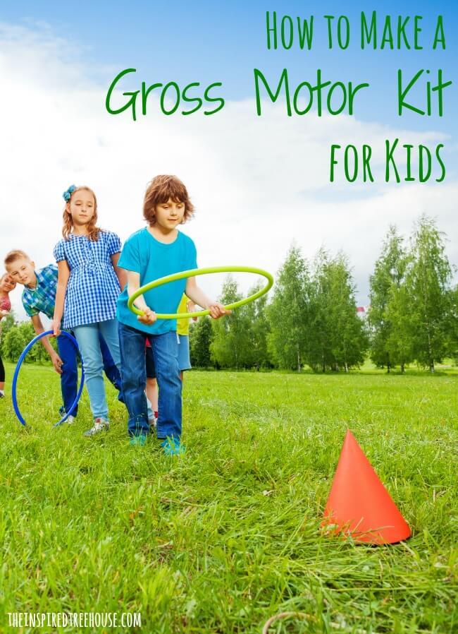 gross motor skills kit title