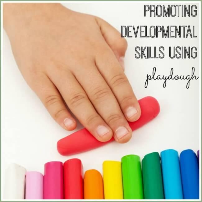 playdough and devel skills2