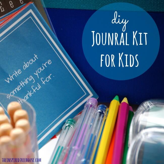 diy gift ideas journal kit square