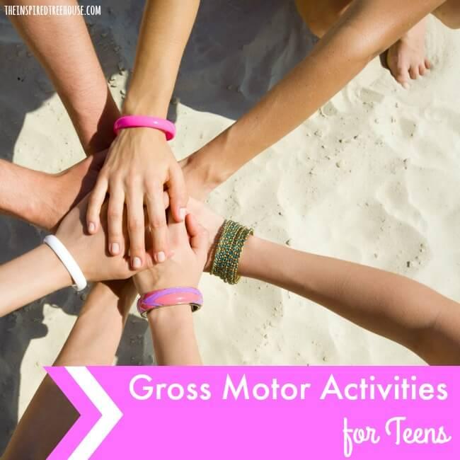 gross motor activities for teens sq