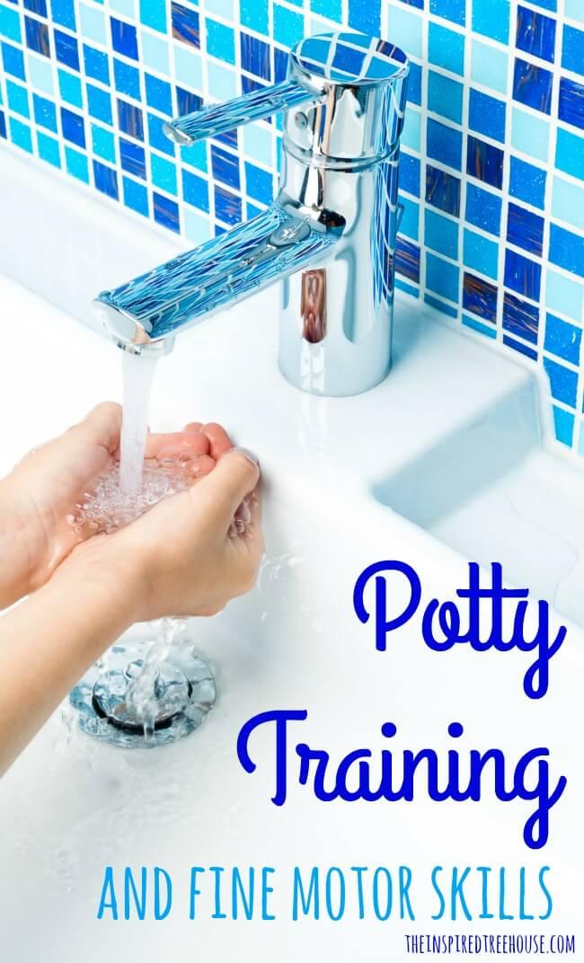 potty training and fine motor skills pin