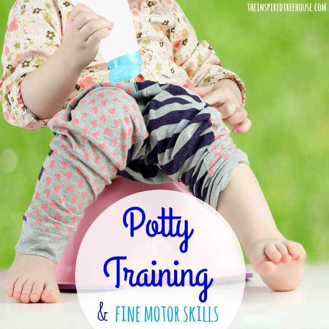 potty training and fine motor skills square