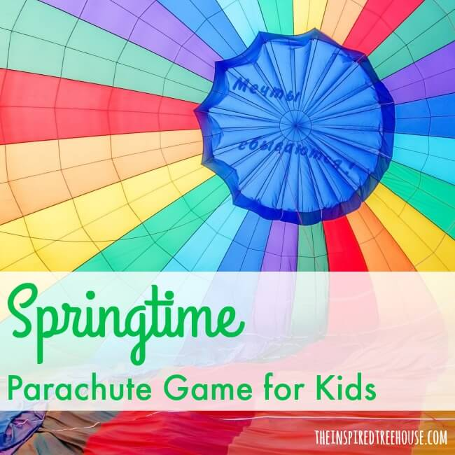 spring activities parachute square